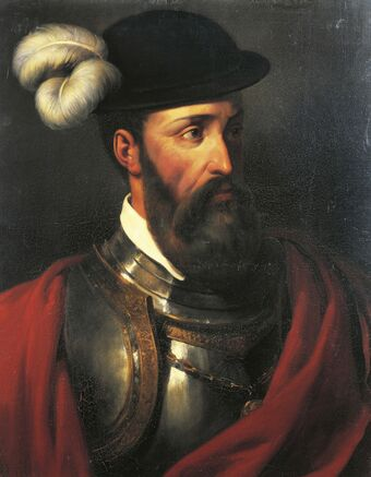 Portrait of Francisco Pizarro