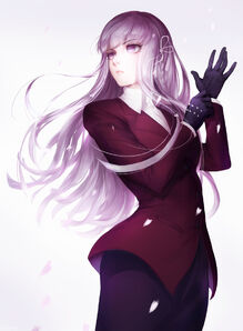 Kirigiri kyouko danganronpa and danganronpa 3 drawn by katorius sample-4ffdde83b99f9a87d9ce2050cd4285f9