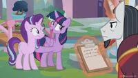 Season 8 promo image - Twilight presenting Starlight Glimmer