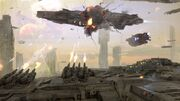 Dreadnought-4267x2400-game-space-battle-planet-starship-fire-galaxy-2278
