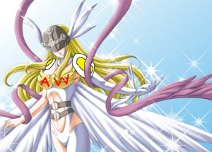 Angewomon sparkly super