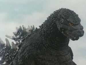 Godzilla movie suit