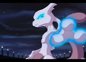 Mewtwo fan art