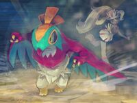 Korrina and Hawlucha