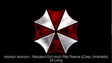 Marilyn Manson - Resident Evil Main Title Theme (Corp