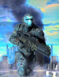Sci-Fi-art-красивые-картинки-солдат-будущего-2690964