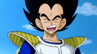 Vegeta laughing