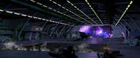 Sci fi hangar by maeusel-d8yld1e