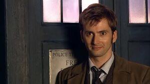 Doctor slight smile