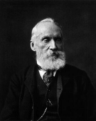 Lord Kelvin photograph