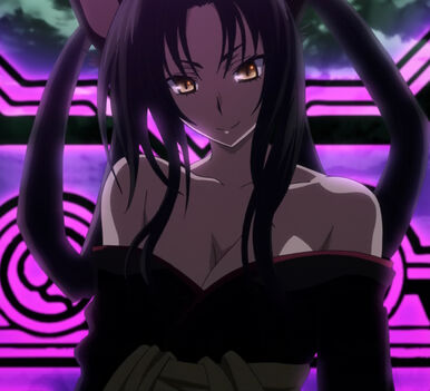 Kuroka arriving via Magic Circle