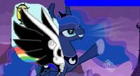 Princess luna power up attack
