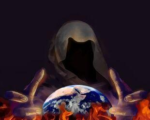 Satan rules world