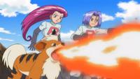 Growlie Flamethrower