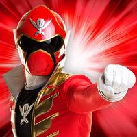 Red Super Megaforce Ranger
