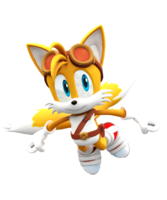 Sonic boom new tails render by nibrocrock-d7j6znw