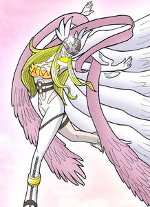 Angewomon dancing super