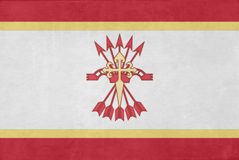 Flag of the state of spain by lyniv-d96j717