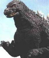 Godzilla half view