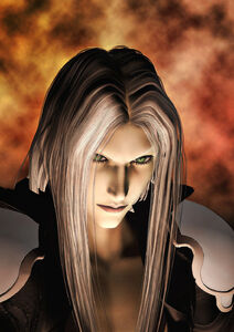 Sephiroth First Render by DarthMael