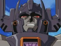 Megatron weird grin