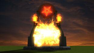 Demonic portal by markamanic-d4lwk7x