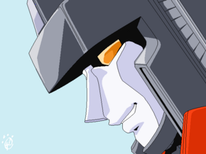 Starscream happy