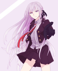 Kirigiri kyouko danganronpa and danganronpa 1 drawn by okuragon 6b35626fbbfca81f7fbf43901c338e42