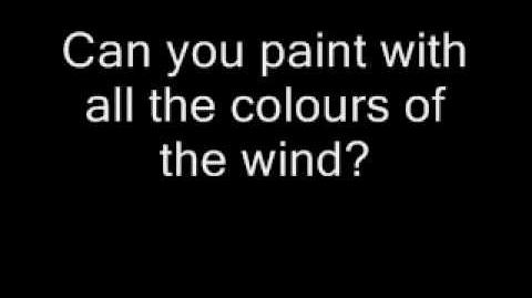 Colors of the Wind (Luna the Wolf's theme)
