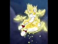 Tails super flying