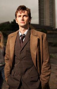 Tenth doctor brown coat 85361