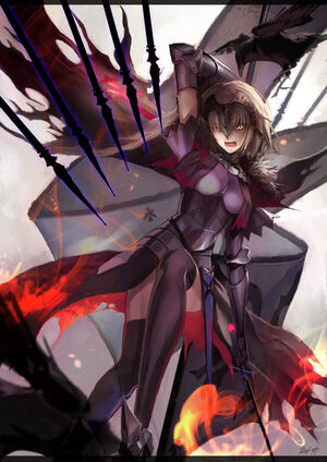 Jeanne alter and ruler fate grand order and fate series drawn by dai xt sample-e9a725e17cab6f1c639a3db477a5309f