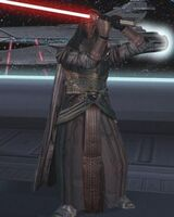 Revan ready to attack