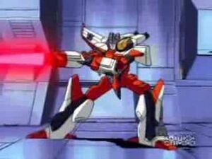 Starscream red sword attack