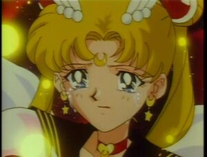 Sailor moon sad