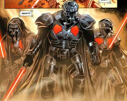Darth Krayt's Sith Troopers