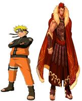 Naruto and Rider