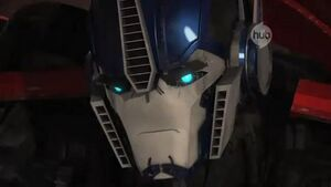 Optimus angry
