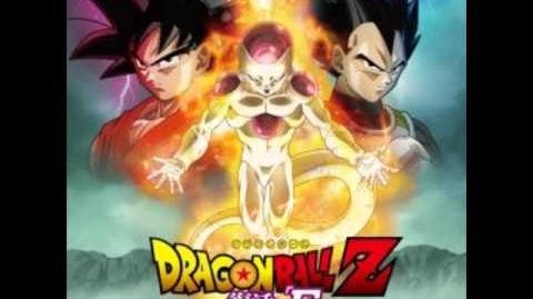 Dragon Ball Z Fukkatsu no F OST 22 Desperate Struggle Against Golden Freeza