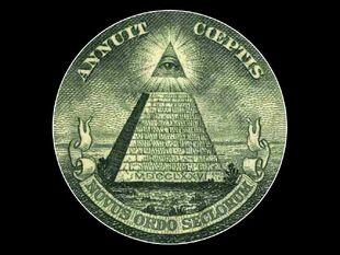 Piramide illuminati e simbolos
