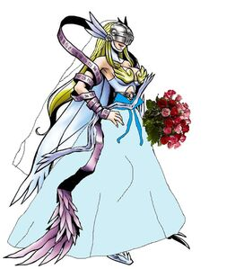 Angewomon beautiful bride