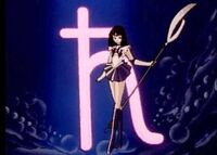Sailor saturn posing