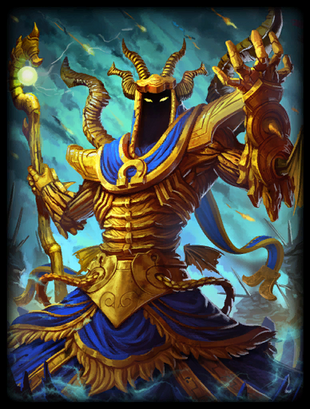 T Hades Nightmare Gold Card