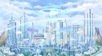 Planeptune central city