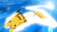Pikachu quick attack