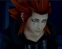 Axel looks on