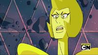 Yellow Diamond Shut your mouth!