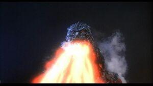 Godzilla spiral ray down