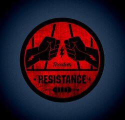 Resistance-game-crewlogo-designer-Londoncreative-services-ukband-logosvintage-style