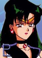 Sailor pluto, space and time soldier